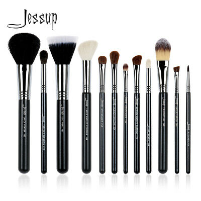 Jessup Make Up Brush Set Pro Powder Eyeshadow Foundation Brow 12PCs Best Copper