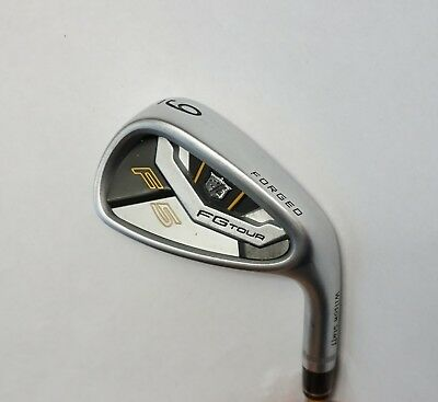 Wilson FG Tour F5 Forged 9 Iron S300 Stiff Steel Shaft Lamkin Grip