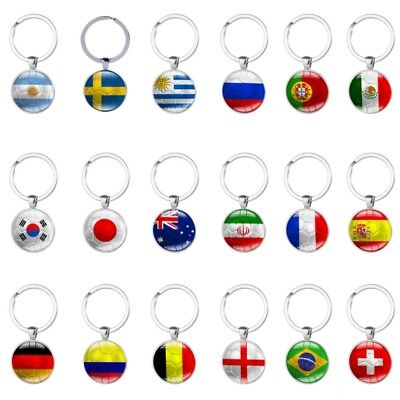 Personalised Wooden Football Keyring Keychain Gift World Cup 2018 Fathers Day