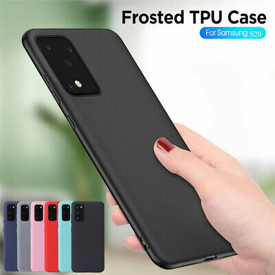 Silicone Rubber Frosted TPU Cover Case For Samsung S9 A6 A8 Plus J2 J4 J6 2018