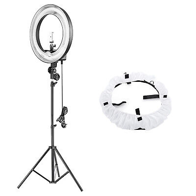 "Neewer 14"" Outer Dimmable Ring Light and Stand Lighting Kit with Phone Holder"