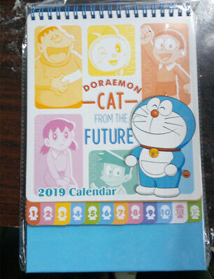 Hong Kong Doraemon 2019 Table Calendar Living Planner Dp11002