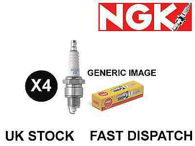 4 X Ngk Bkr6Ekc 2848 Copper Nickel Spark Plugs *Free P&P*