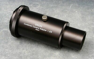 """1.25"""" Basic Camera Adapter For Astronomy Telescope W/T-Mount - Free Ship"""