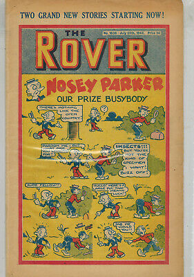 ROVER COMIC - No. 1036 from 1942