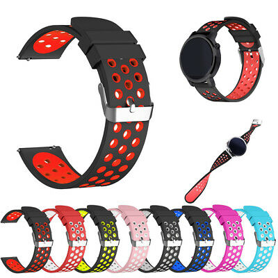 Silicone Bracelet Strap Watch Wrist Band For Samsung Gear S3 Frontier / Classic