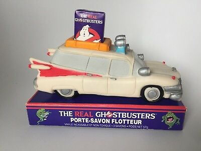 VINTAGE REAL GHOSTBUSTERS floating soap dish 1980s