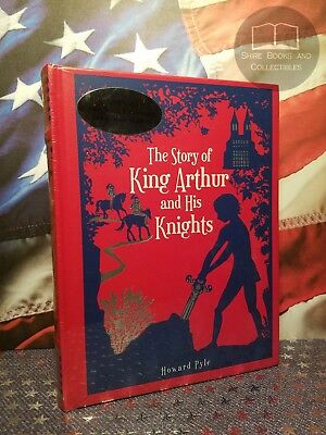 NEW SEALED The Story of King Arthur and His Knights Howard Pyle Bonded Leather