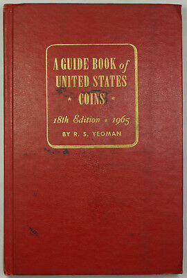 1965 A Guide of United States Coins Red Book 18th Edition by R.S. Yeoman