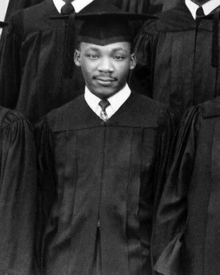 1948 MARTIN LUTHER KING JR Glossy 8x10 Photo History Print Morehouse College
