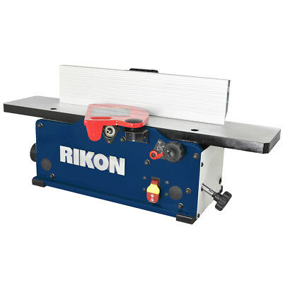 RIKON 20-600H 120-Volt 6-Inch Durable Benchtop Jointer w/ Helical Cutterhead