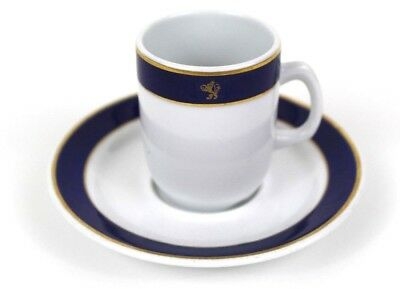 CUNARD LINE Porsgrund Norway 85 Tea Coffee Cup and Saucer China Dinnerware