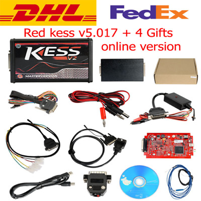 RED KESS V5.017 + 2018 Newest Software V2.47 EU Master Online FREE DHL + 4 Gifts
