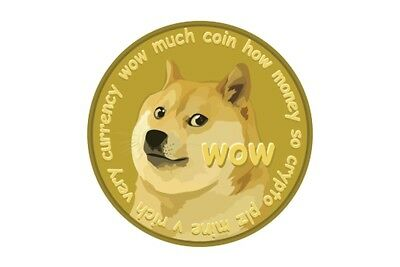 120 Dogecoin (digital currency Not Physical)(like BTC)