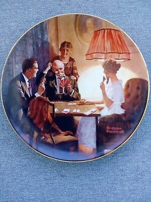 "Norman Rockwell ""This is the Room that Light Made"" 1983 Collector Plate"