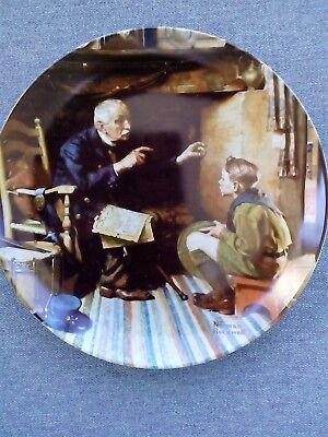 "Norman Rockwell ""The Veteran"" 1988 Collector Plate"