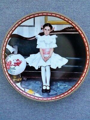 "Norman Rockwell ""Sitting Pretty"" 1986 Collector Plate"