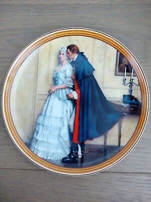 "Norman Rockwell ""The Unexpected Proposal"" 1986 Collector Plate"