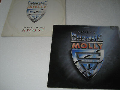 "Chrome Molly - Angst + Thanx For The Angst (IRS Vinyl LP + 12"" EP - 1988)"