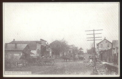 Early Sepia Photo Pc, North Broadway St. Dixon, Mo. Staben Bros General Store +