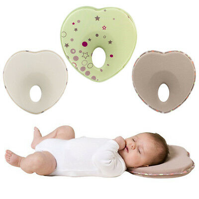Baby Pillow Infant Sleep Positioner Anti Roll Cushion Flat Head Protection