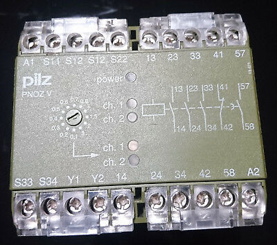 Pilz PNOZ V 24VDC 3S Safety Relay