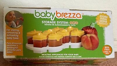 Baby Brezza One Step Baby Food Maker Storage System Octo