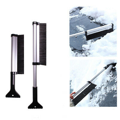 Extendable Car Auto Ice Scraper Shovel Snow Brush Removal Cleaning Tool New
