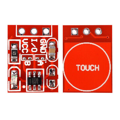 1/5/10pcs TTP223 Capacitive Touch Switch Button Self-Lock Module