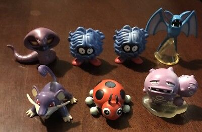POKEMON TOMY VINTAGE MINI FIGURES YOU CHOOSE ONE LOT C ALL HAVE TOMY STAMP