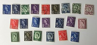 Job Lot of - Postage Stamps - Queen Elizabeth II - Inc 3d 4d 5d 6d 9d Stamps