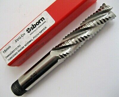18mm HSSCo8 4 FLUTED L/S RIPPER RIPPA END MILL EUROPA TOOL OSBORN 86320709  #110