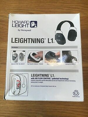Howard Leight - Leightning L1 - Comfortable Headband Earmuff - Brand New