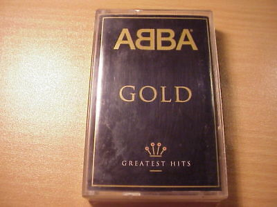 ABBA - GOLD Greatest Hits - Tape/Cassette - Made in Holland 1992 _
