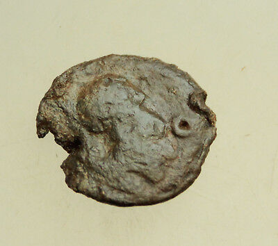 Sicily Syracuse  Ancient Greek Lead Seal D=25mm 8,2g Athena Pegasos Very Rare