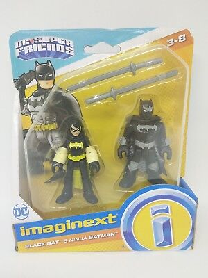 Imaginext DC Super Friends Black Bat and Ninja Batman
