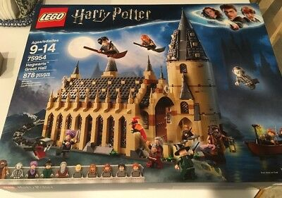 New LEGO Harry Potter Hogwarts Great Hall 75954 Wizarding World 878 pieces