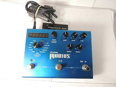 Strymon Mobius Modulation Effects Pedal w/Adapter Free USA Shipping