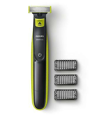 Philips One Blade Electric Trimmer Styler Shaver 3x Combs Wet & Dry QP2520/25