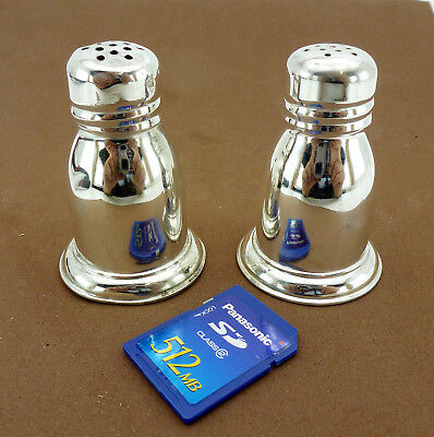 BIRKS Vintage Sterling Silver Salt and Pepper Shakers Set