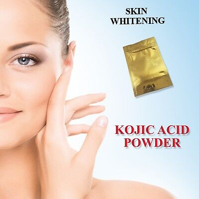 Kojic Acid Powder - Skin Lightening-Bleaching - 25,50,100,200,500,1000g