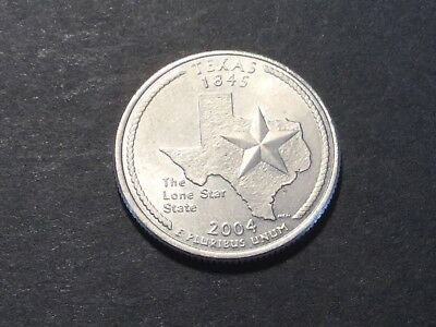 2004 US State Quarter. Texas