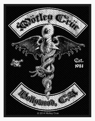 Motley Crue Dr. Feelgood Hollywood Woven Patch M070P Poison Ratt