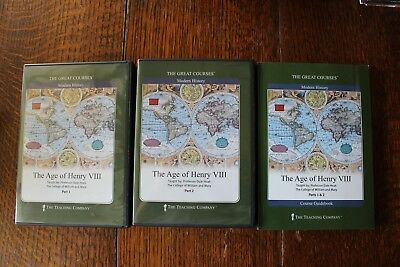 The Great Courses: The Age of Henry VIII, 4 DVDs + course guidebook