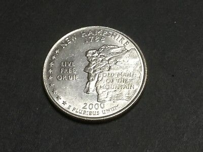 2000 US State Quarter New Hampshire