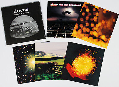 DOVES The Last Broadcast limited edition PROMO postcard set