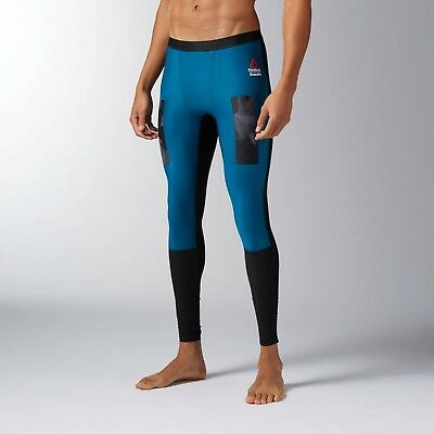 44c981810bf2c REEBOK MEN'S COMPRESSION Tight Training CrossFit Leggings BQ3466 ...