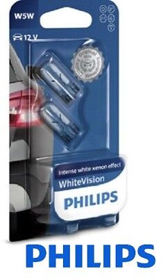 Philips W5W White Vision Xenon Effect Glühlampen - Doppelpack