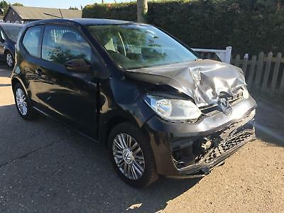 Volkswagen up! 1.0 ( 60ps ) Move Up BLACK 2018 18 REG DAMAGE REPAIRABLE SALVAGE