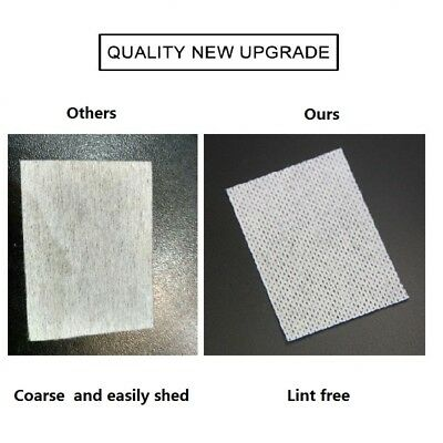 700 Lint-Free Wipes Napkins Manicure Remove Nails Varnish Cotton Pads Nail